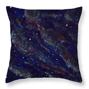 Into The Cosmos Throw Pillow