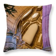 Into The Dome Throw Pillow