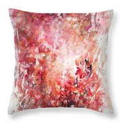 Into The Enchantment Throw Pillow