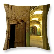 Into The Looking Glass Throw Pillow