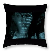 Into The Lull  Throw Pillow