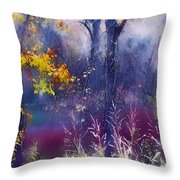 Into The Mist - A Dream State Throw Pillow