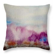 Into The Mist I Throw Pillow