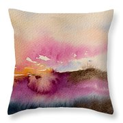 Into The Mist II Throw Pillow