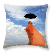 Into The Mystic 1 Throw Pillow