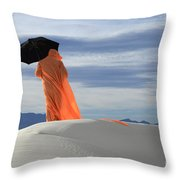 Into The Mystic 4 Throw Pillow