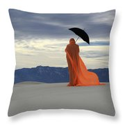 Into The Mystic 5 Throw Pillow