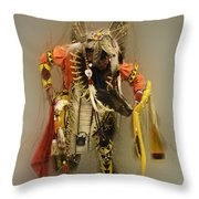 Pow Wow Into The Mystic Throw Pillow