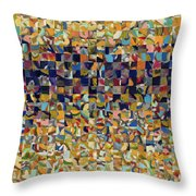 Into The Rubble We Walk Throw Pillow by Jennifer Lommers