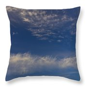 Into The Sky Throw Pillow