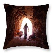 Into The Sun Throw Pillow