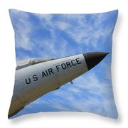 Into The Wild Blue Yonder Throw Pillow