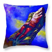 Intoxicated By The Sexual Mystery Of Books Throw Pillow