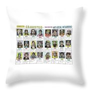 Introducing Crankster - The Site For Anti-social Throw Pillow