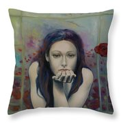 Introversion Throw Pillow