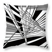 Introversion Four Throw Pillow