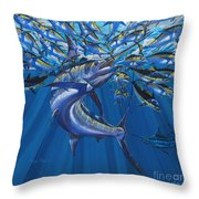 Intruder Off003 Throw Pillow by Carey Chen
