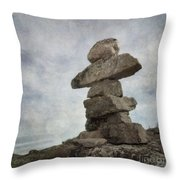 Inuksuk Throw Pillow