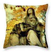 Invasion Of Autumn Throw Pillow
