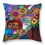 Invention Of Love Closer Throw Pillow