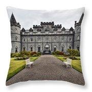 Inveraray Castle Argyll Throw Pillow