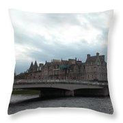 Inverness And Bridge Throw Pillow