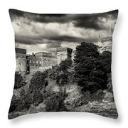 Inverness Castle Scotland Throw Pillow