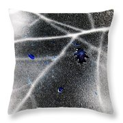 Inverted Shadows Throw Pillow