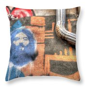 Invisible God Throw Pillow