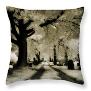 Invisible Light Throw Pillow