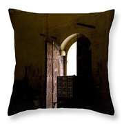 Invitation To The Templar Church Throw Pillow