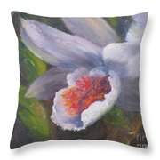 Inviting- Oil Throw Pillow