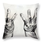 Invocation Throw Pillow