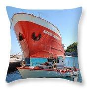 Ioanna Chrisoula Throw Pillow