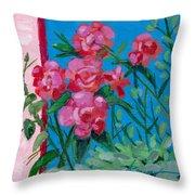 Ioannina Garden Throw Pillow