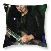 Iommi Throw Pillow