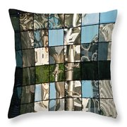 Ion Orchard Reflections Throw Pillow