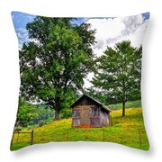 Iotla Valley  Throw Pillow