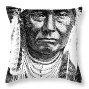 iPhone-Case-Chief-Joseph Throw Pillow