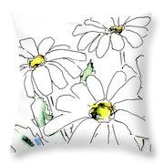 iPhone-Case-Flower-Daisy2 Throw Pillow