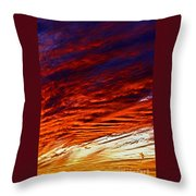 iPhone Southwestern Skies Throw Pillow