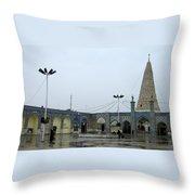 Iran Daniel Tomb Throw Pillow