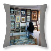 Iran Isfahan Art Shop Throw Pillow