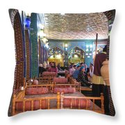 Iran Isfahan Restaurant Throw Pillow