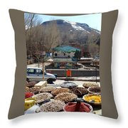 Iran Kandovan Spices Throw Pillow