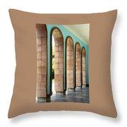 Iran Saadi Monument Shiraz Throw Pillow