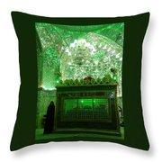 Iran Shiraz Mausoleum Throw Pillow