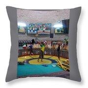 Iran Yazd House Of Strength  Throw Pillow