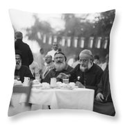 Iraq Joins League Of Nations Throw Pillow