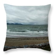 Ireland Atlantic Ocean Throw Pillow